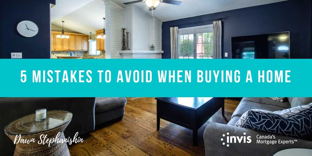 5 Mistakes to Avoid When Buying Your First House in Vernon, BC