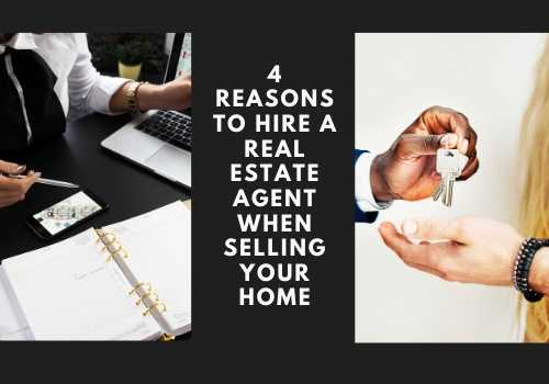 4 Reasons to Hire a Real Estate Agent When Selling Your Home in Vernon, British Columbia