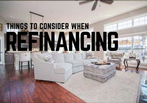 What should you consider when refinancing your mortgage in Vernon?